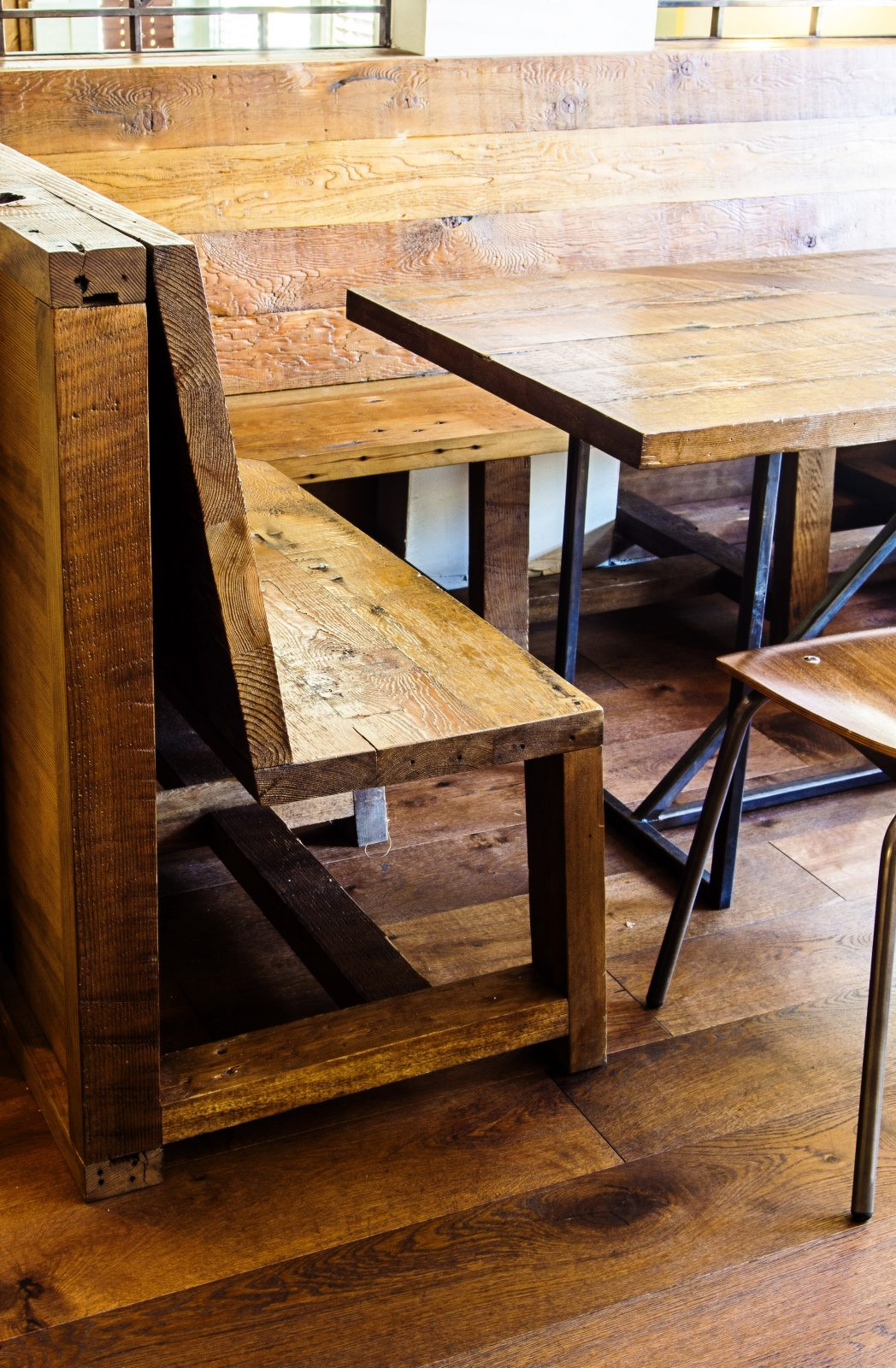 The Snug Table and Bench